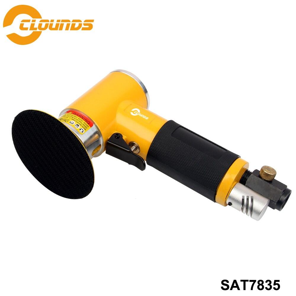 SAT7835-آلة صنفرة الهواء المدارية ، آلة تلميع الهواء الصغيرة ، 15000 دورة في الدقيقة ، حجم 2