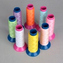 1000 Yards Spool Luminous Glow In The Dark Machine Hand Embroidery Sewing Thread Luminous Thread DIY Crafts Handmade