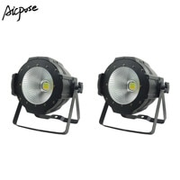 LED Par COB Light 100W High Power Aluminium DJ DMX Led Beam Wash Strobe Effect Stage LightingCool White and Warm White