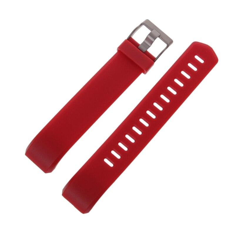 Купить с кэшбэком ID115 Plus Wrist Band  Strap Red Black Blue Purple Green Replacement Silicone Watchband Smart Watch Bracelet