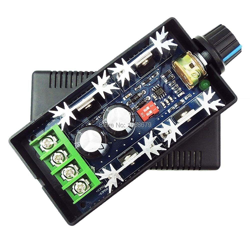منظم سرعة وحدة التحكم في المحرك ، تعديل DC12V /24V /36V /48V ، 40A PWM DC