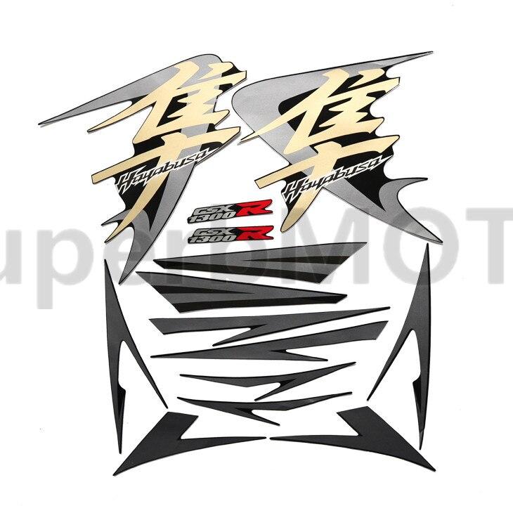 Pegatina de carenado para Suzuki Hayabusa GSXR1300R GSXR 1300R 2008