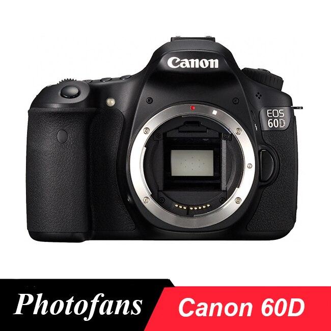 """Canon 60D DSLR 카메라-18 백만마력-3.0 """"Vari-Angle LCD-풀 HD 1080p 비디오 (본체 만 해당)"""