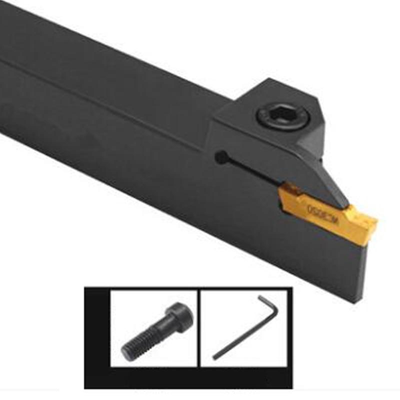 MGEHR1616 MGEHL1616 1,5mm 2,5mm 3mm 2mm externo 4mm ranurado torneado herramienta de torno CNC herramientas para MGMN200 insertos