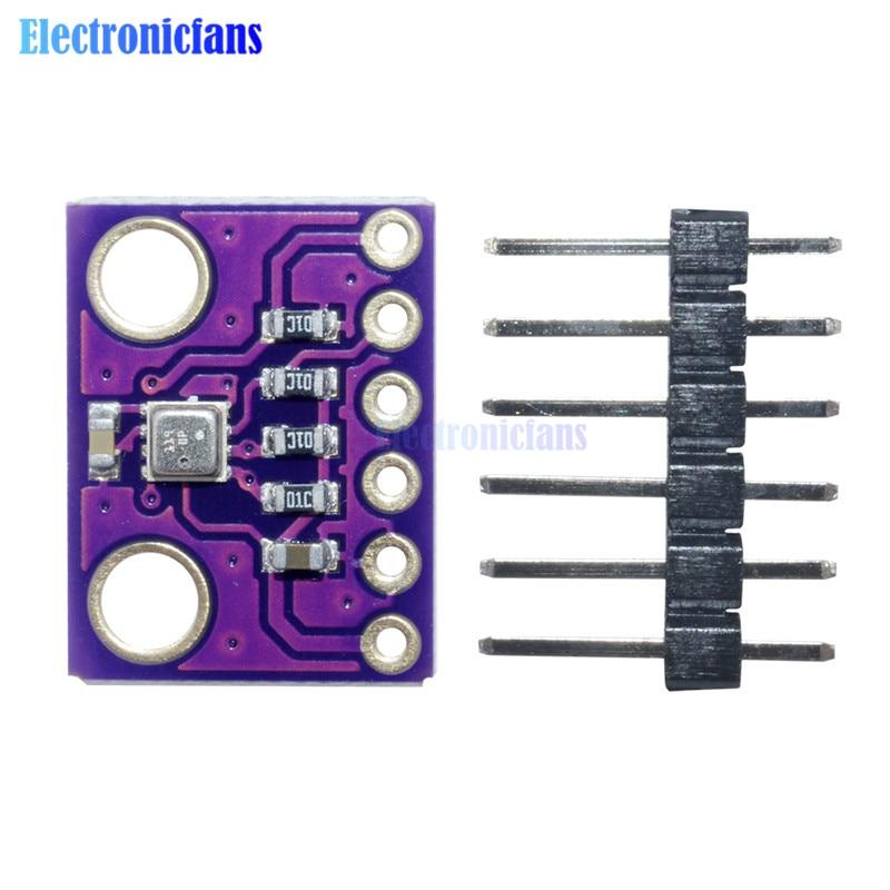 Módulo de Sensor Digital SPI GY-BME280 BME280 I2C Módulo de presión barométrica de humedad y temperatura de ruptura 3,3 V de alta precisión