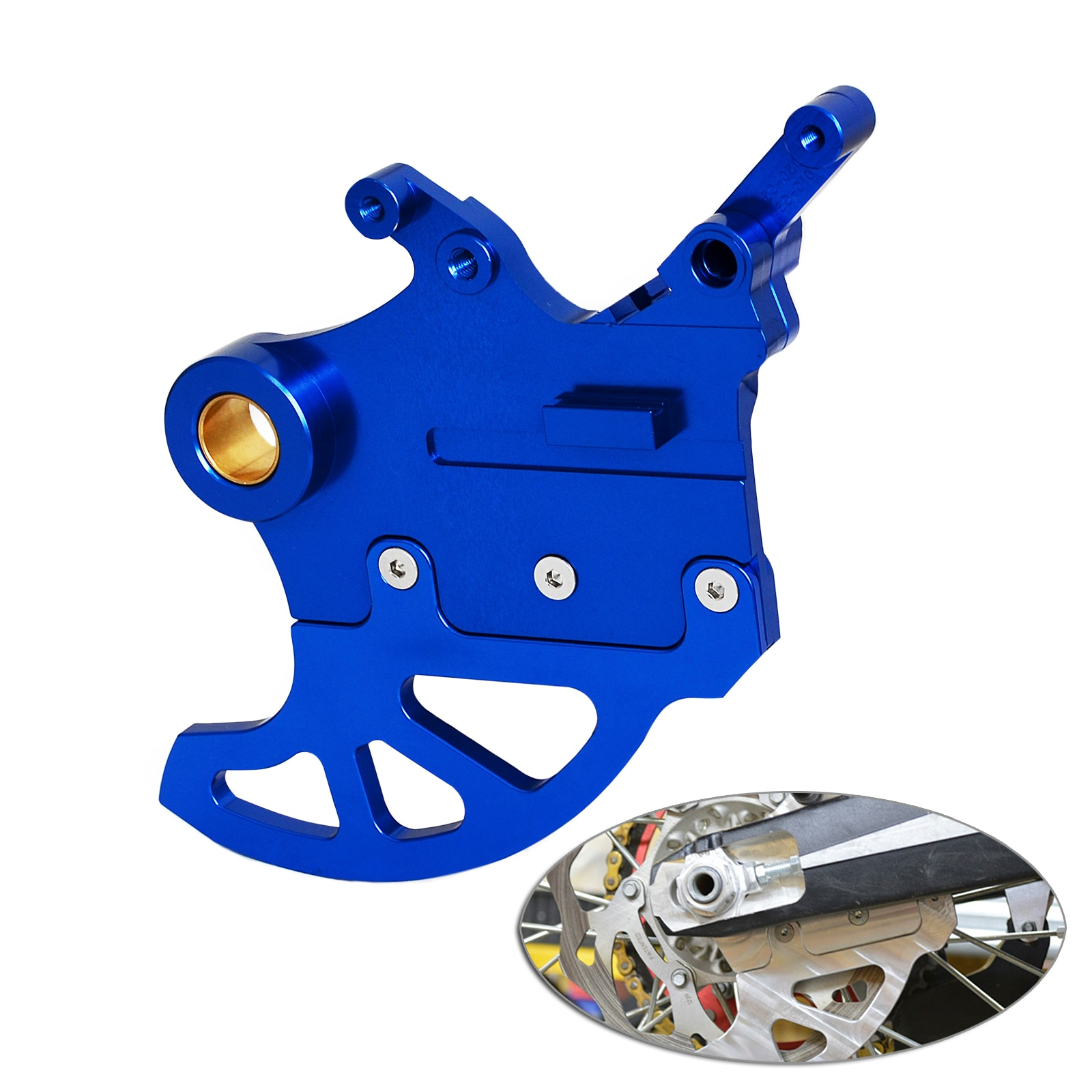 Rear Brake Disc Guard Protector For Yamaha YZX250 YZX450 YZFX250 YZFX450 2015 2016 2017 2018 YZX YZFX 250 450 YZ 125 250 Cover