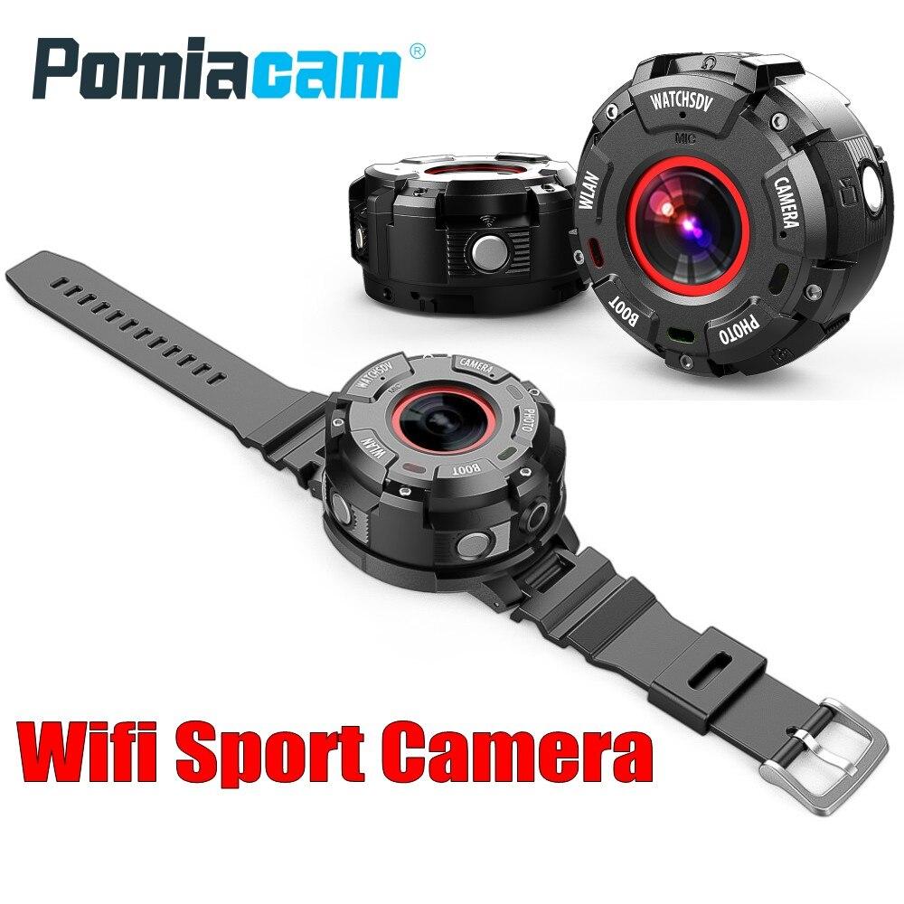 New arrival G600 Action Camera 1080P Full HD 153 degree Ultra-wide Angle Wifi Sport Camera 30m waterproof mini camera Watch band