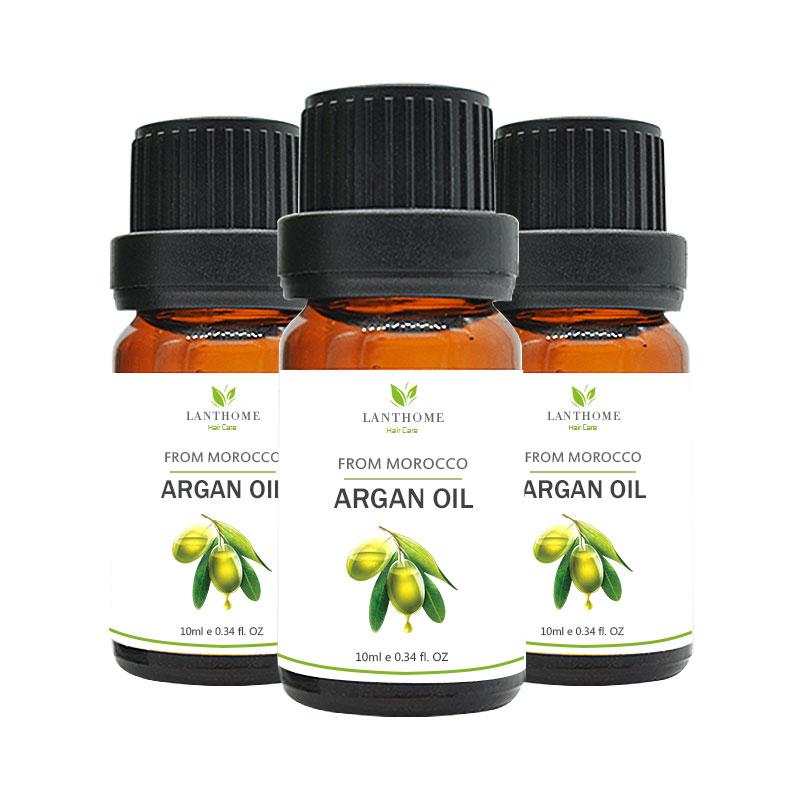 3pcs Hair Repair Hair Tonic Macadamia Nut Oil Pure Moroccan Argan OiL Hair serum for damaged hair building fibers mino xidil