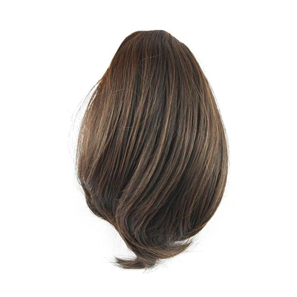 Волосы для наращивания Soowee Bun, синтетические конские хвостики, ролик для наращивания волос