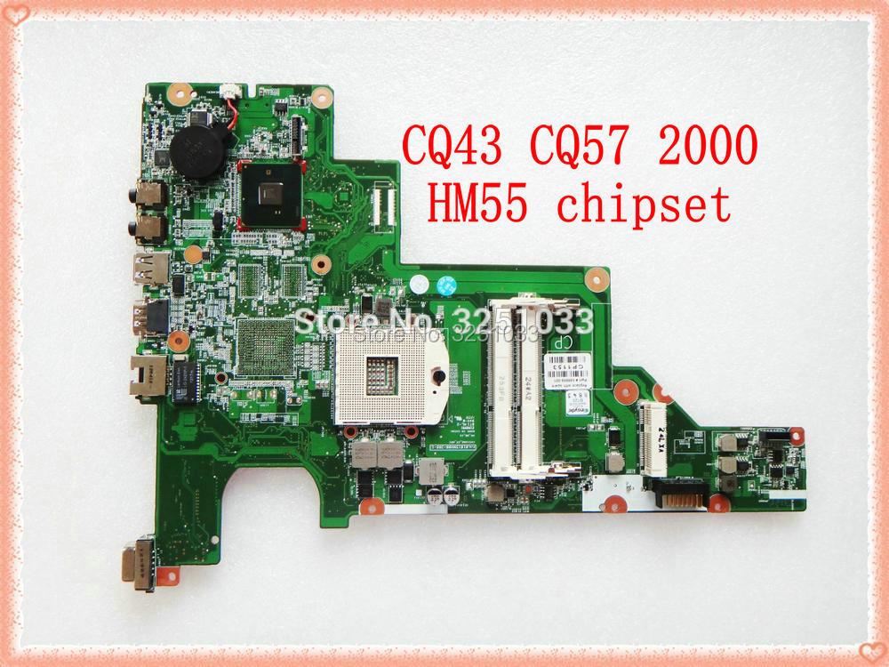 646669-001 ل hp 430 631 CQ43 لوحة رئيسية لأجهزة hp الكمبيوتر المحمول 630 430 الكمبيوتر المحمول HM55 DDR3