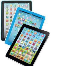 Hobbylan планшет Pad компьютерная обучающая машина вокальные игрушки для детей обучение английскому языку ранняя обучающая игрушка подарок