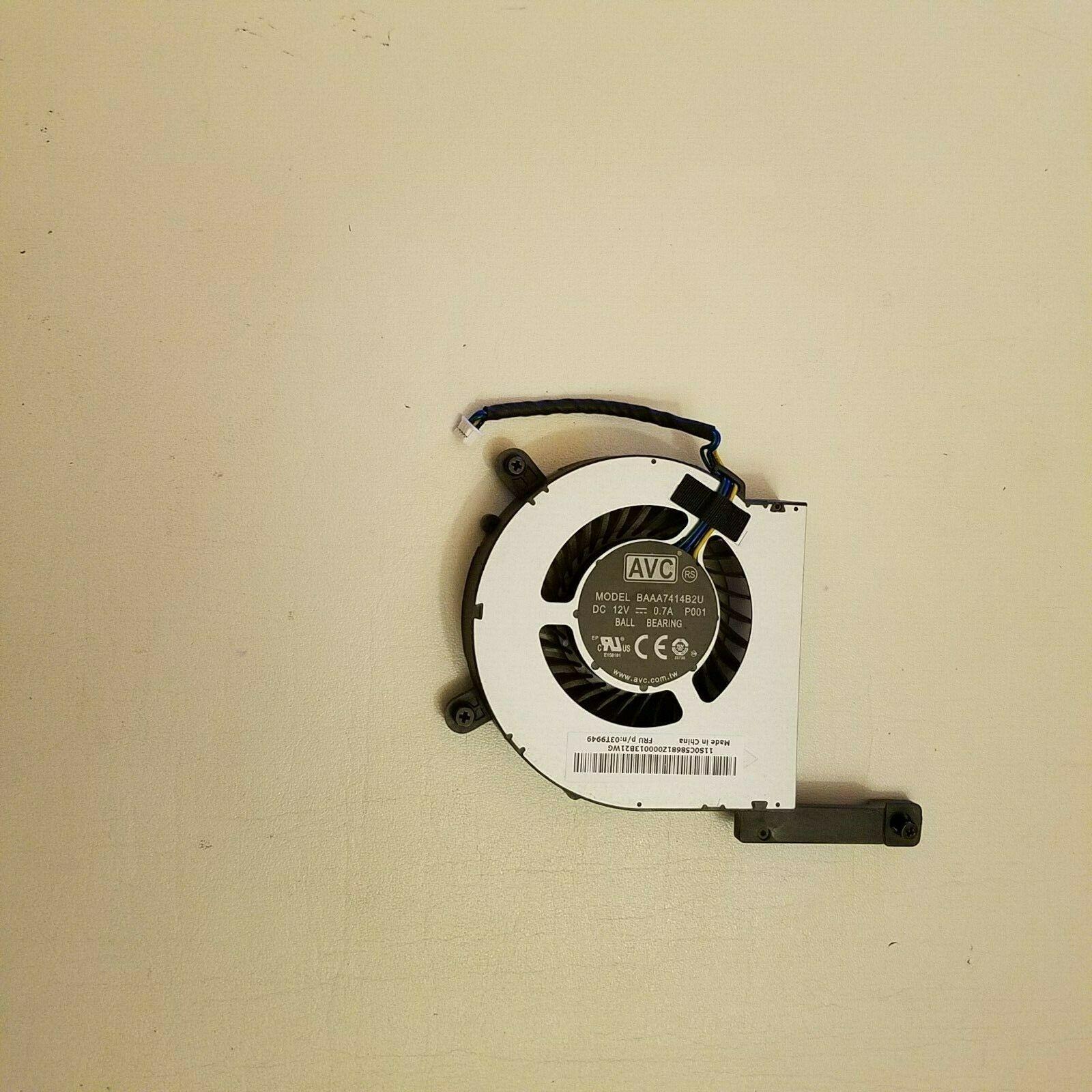 Охлаждающий вентилятор для процессора Lenovo thinkcenter M93 M73 FRU 03T9949 BFB0712HB BAAA7414B2U M83 M93P M93 PVB070E12H-P01 m93p m900