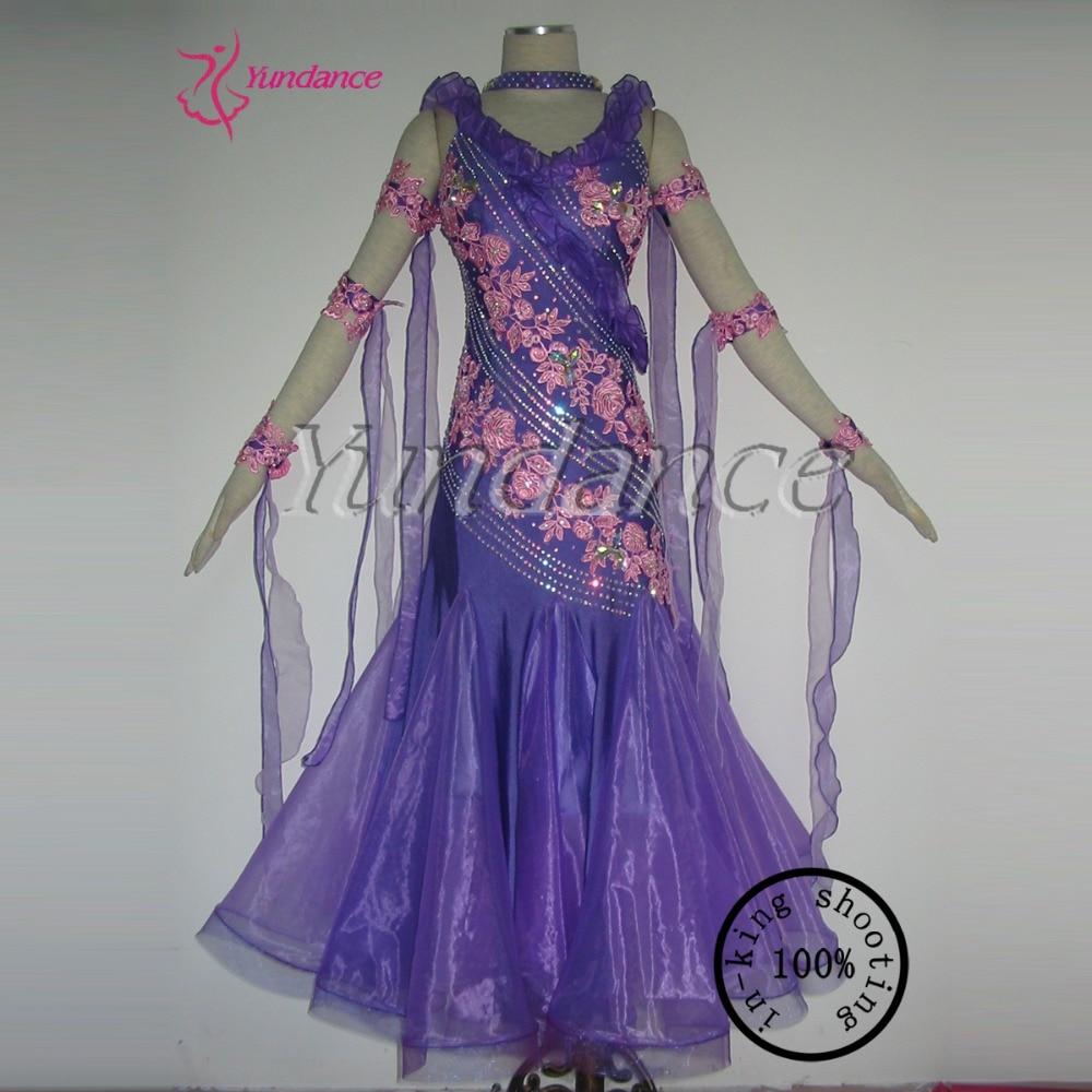 Adults New Design Standard Ballroom Dress For Girls In China   B-11308