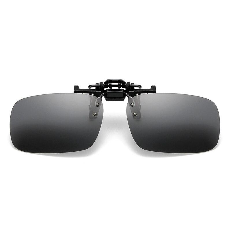 Gafas de sol de uso de pesca gafas de sol de estilo Clip UV400 polarizadas pesca montar y gafas de senderismo gafas de visión diurna/nocturna