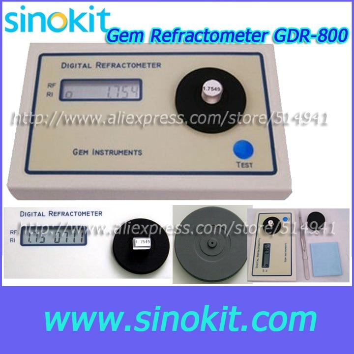 Professional RI Test Range 1.30 to 2.99RI Gem Digital Refractometer - GDR-800