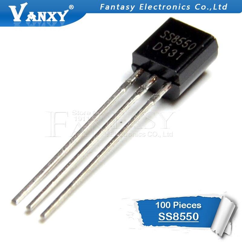 100 Uds SS8550 a 92 8550 TO92 nuevo transistor triodo