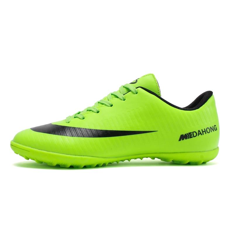 Interior Superfly transpirable Chuteira fútbol alta calidad barato hombres fútbol zapatos Superfly Original TF niños botas de fútbol
