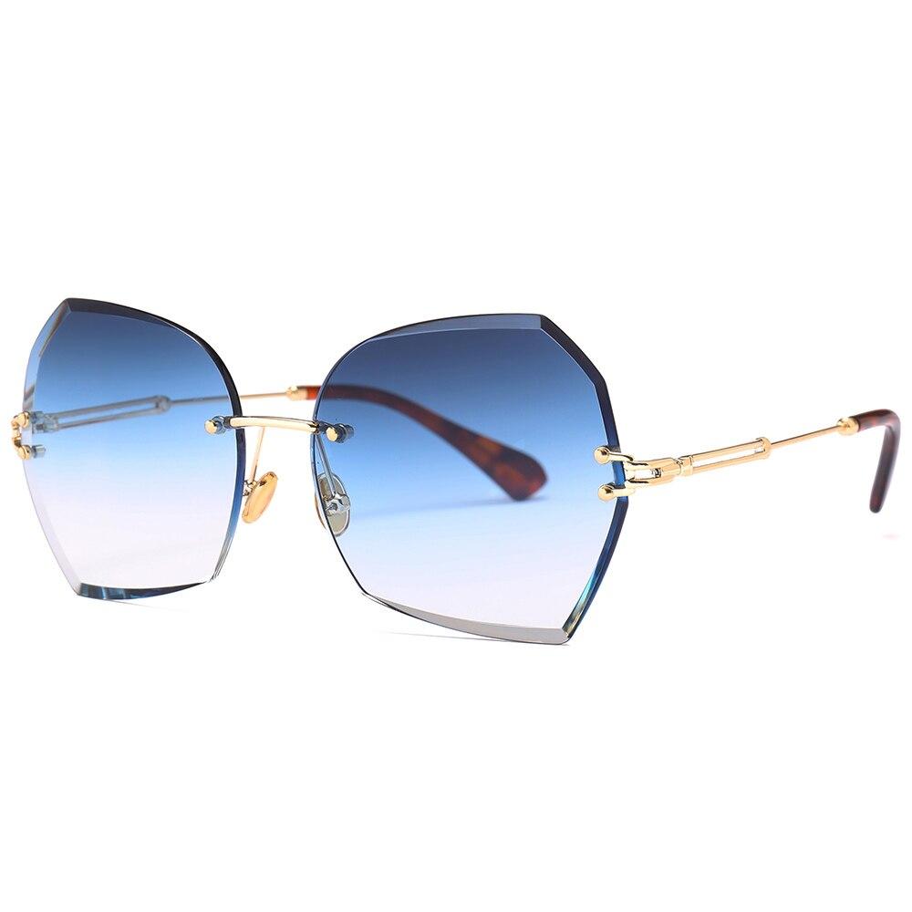 Gafas De Sol para Hombre, Gafas De Sol sin montura, Gafas De Sol sin montura, Gafas De Sol para mujer, Gafas De Sol para Hombre