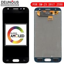 AMOLED J330FN J330 pour Samsung J3 2017 verre daffichage J330F LCD tactile numériseur pour galaxie pour Samsung J3 Pro LCD cadre écran