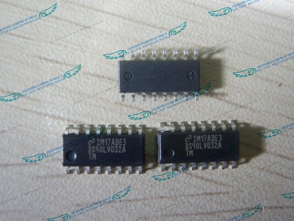 10 قطعة/الوحدة DS90LV032ATMTC DS90LV032ATM DS90LV032A DS90LV032 TSSOP16 IC خط RCVR رباعية CMOS