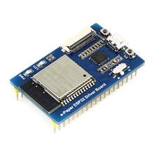 Paneles sin procesar de fácil uso pantalla de tinta WIFI Bluetooth Waveshare Universal e-pape ESP32 Driver Board Internet SPI fácil de instalar inalámbrico