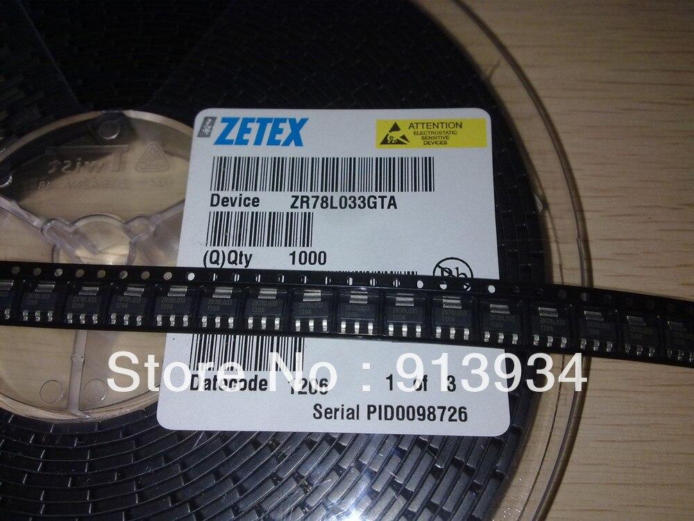 Регулятор напряжения ZR78L033GTA 2,85-12 Вольт, фиксированный позитив, ZETEX SOT223