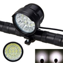 Super lumineux 16x XM-L T6 LED vélo montage guidon avant lumière vélo lampe phare cyclisme accessoires