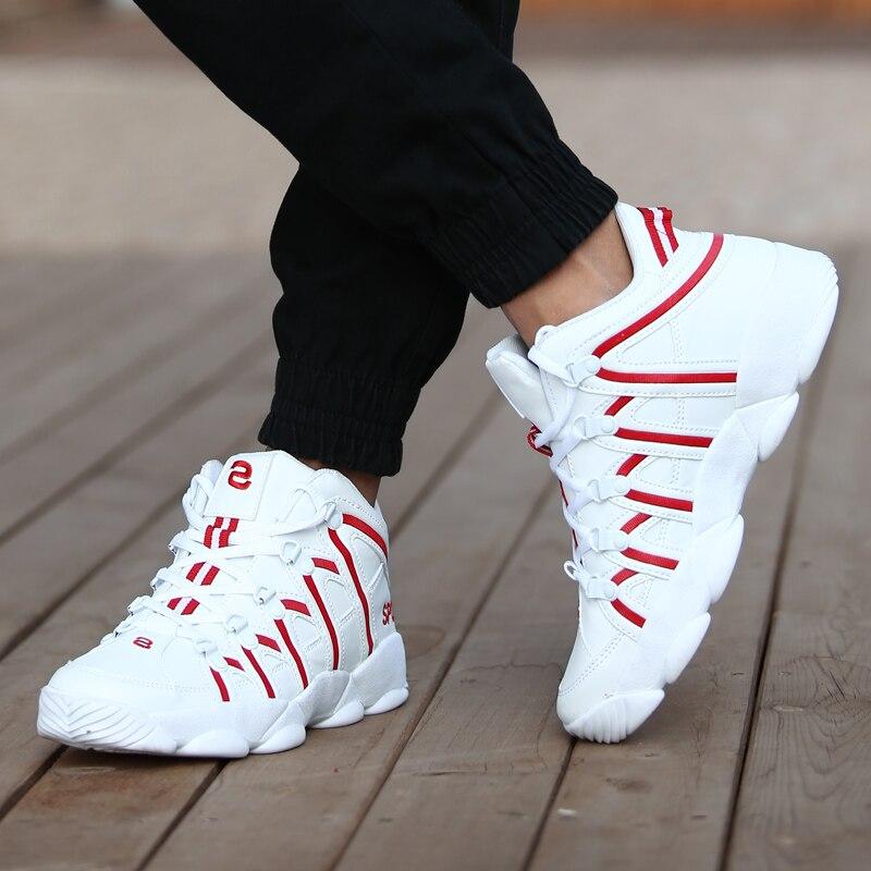 Nuevos zapatos casuales de la ciudad de los hombres de la ciudad de 2018, zapatos transpirables de marca para caminar, zapatos de diseñador para hombre, zapatillas de deporte a rayas 45