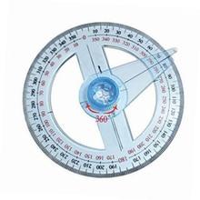Rapporteur à 360 degrés, règle ronde, jauge, outil de mesure angulaire, école, école, bureau déducation pour artisans, électricien, nouveau