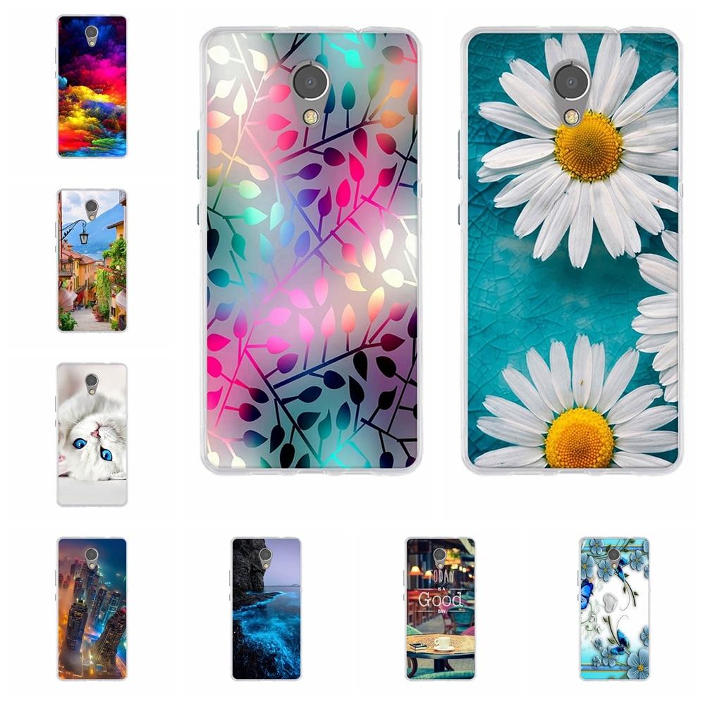 For Lenovo P2 C72 Phone Case Ultra-thin Soft TPU Silicone For Lenovo P2 P2a42 Cover Sky Patterned For Lenovo Vibe P2 Funda Bag