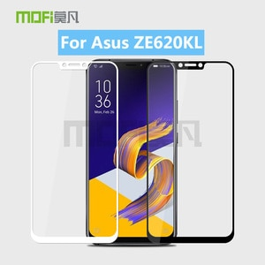 For Asus Zenfone 5 2018 ZE620KL MOFi Full Cover Tempered Glass Screen Protector Film For Asus ZE620KL Toughened Glass Film