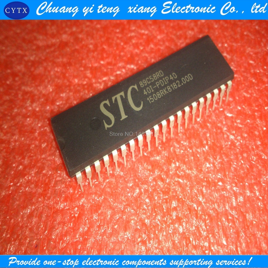 STC89C58RD-40I + PDIP40 5PCS