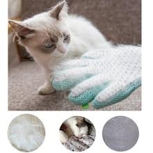 Pet Cleanin Grooming Deshedding Brush Glove Touch Pet Dog Gentle Efficient Back Massage Fur Washing Bathing Comb Pet Supplies