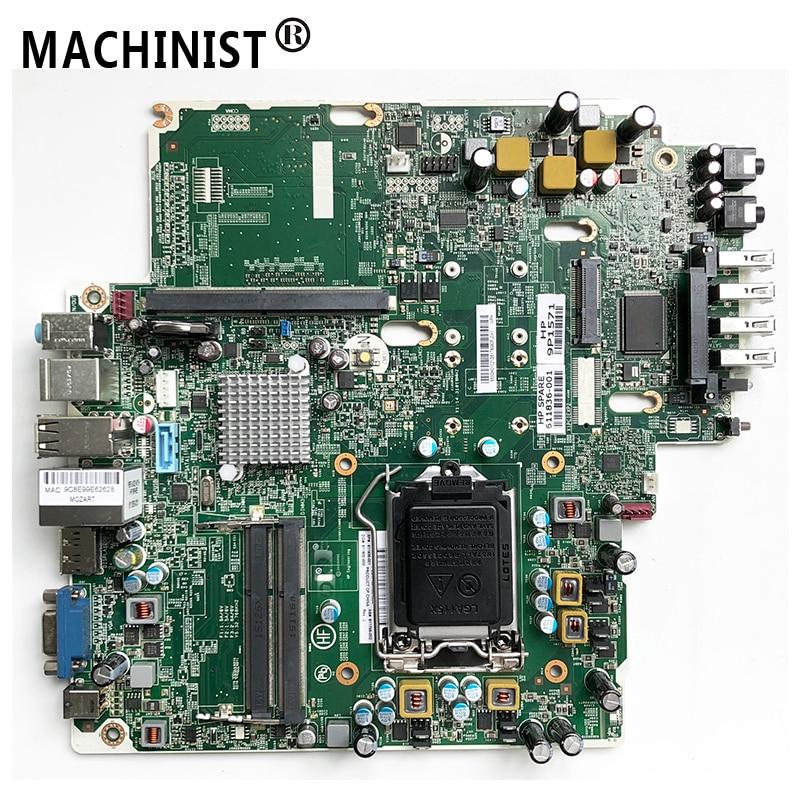 Original para placa base de escritorio HP 8200 USDT MB LGA 1155 DDR3 611836-001 611800-000 611799-002 48.3CH02.011 PIQ67H totalmente probado