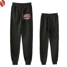 Mongrel Mob Fashion Pritned Jogger Pants Women/Men 2018 New Trendy Style Long Pants Hot Sale Casual Streetwear Slim Pants