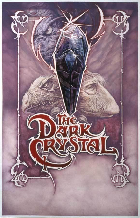 THE DARK CRYSTAL Movie Jim Henson Frank Oz Kathryn SILK POSTER Decorative Wall painting 24x36inch