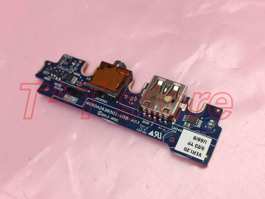 original for HP ELITE X2 1011 G1 Audio USB Board 6050A2638501 test good free shipping