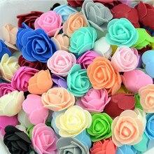 Mini roses de thé artificielles 20 pièces   Fleurs pour poignet de la mariée décorations de mariage maison, Scrapbooking bricolage, accessoires fournitures artisanales faux