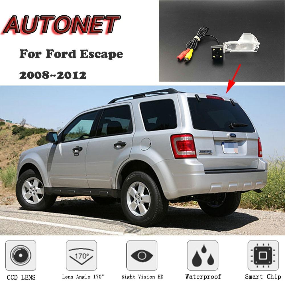 AUTONET HD камера заднего вида ночного видения для Ford Escape 2008 ~ 2012 CCD/камера номерного знака или кронштейн