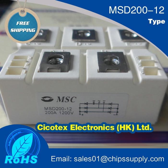 MSD200-12 وحدة IGBT MSD200/12 MSD 200-12 MSD20012