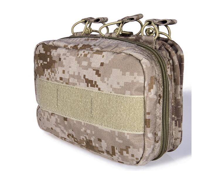 FLYYE MOLLE multiusos, kits médicos para traumatismos en combate, bolsa médica versátil de batalla, CORDURA PH-C043