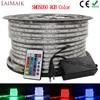 LAIMAIK listwy rgb led 5050 wodoodporny IP67 AC 220V światła rgb 60 leds/m 5050SMD z kontroler bezprzewodowy wtyczka led oświetlenie