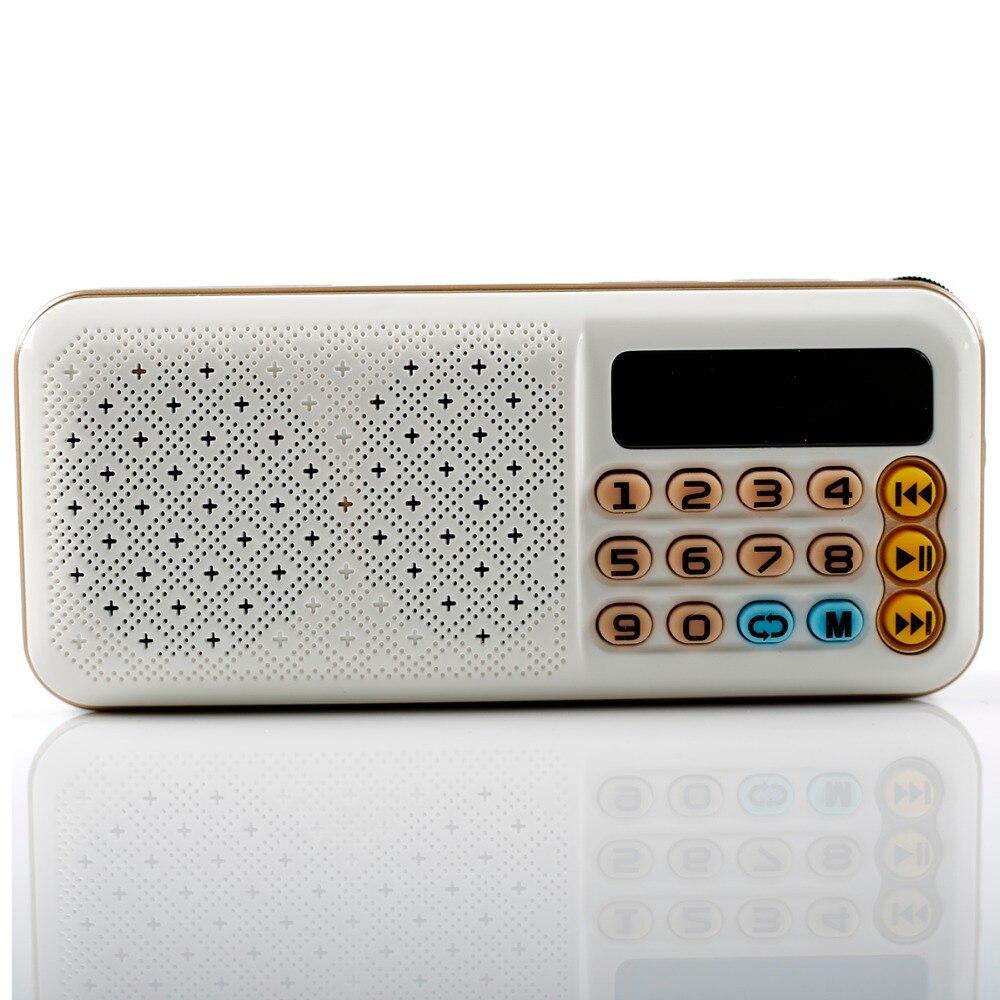 C-855 Mini altavoz de Radio FM portátil, reproductor de música, tarjeta TF, USB para PC, iPod, teléfono con pantalla LED, baile al aire libre, mp3, HiFi Handhe