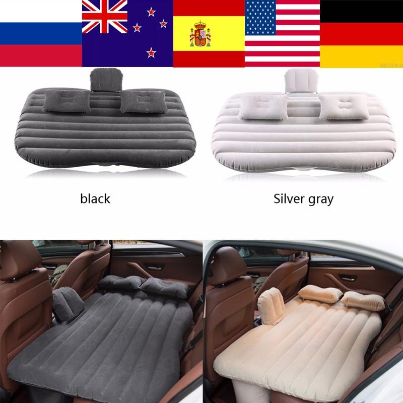 De ultramar coche cama inflable colchón para asiento cama para descansar dormir viajes de Camping inflable cojín de sofá accesorios de coche nuevo