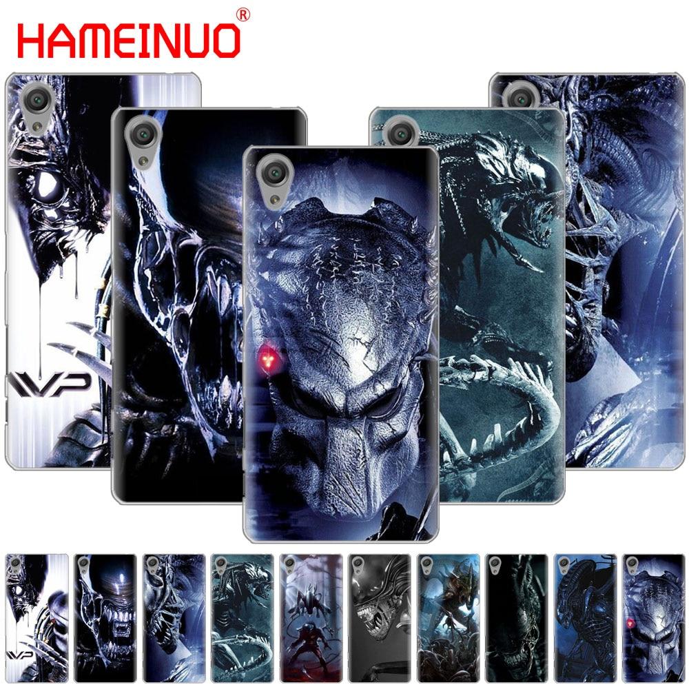 HAMEINUO Alien vs Predator Cool Cover phone Case for sony xperia C6 XA1 XA2 XA ULTRA X XP L1 L2 X XZ1 compact XR/XZ PREMIUM