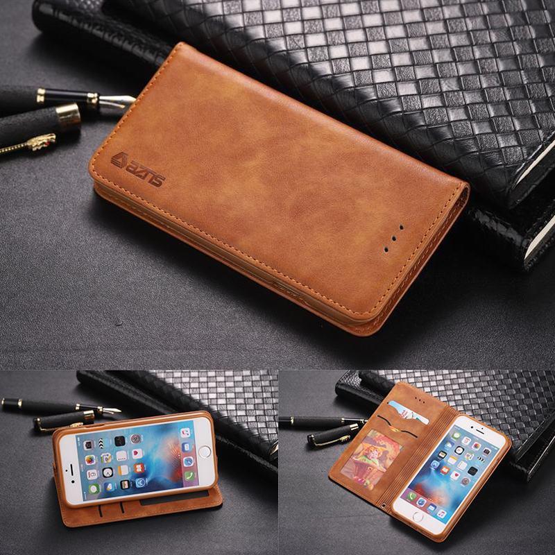 Флип-кейс для iphone 6 6S Plus, Роскошный чехол, Винтажный чехол с отделением для карт, магнитная кожаная сумка для телефона IPHONE 6 plus, 6splus Coque