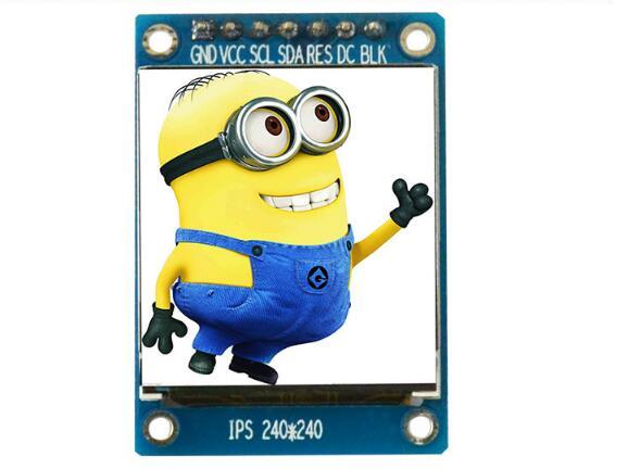 CPT 2,8 pulgadas 37P TFT LCD de pantalla de ILI9328 conducir IC 8/16Bit MCU interfaz paralela 240(RGB)* 320 No tocar