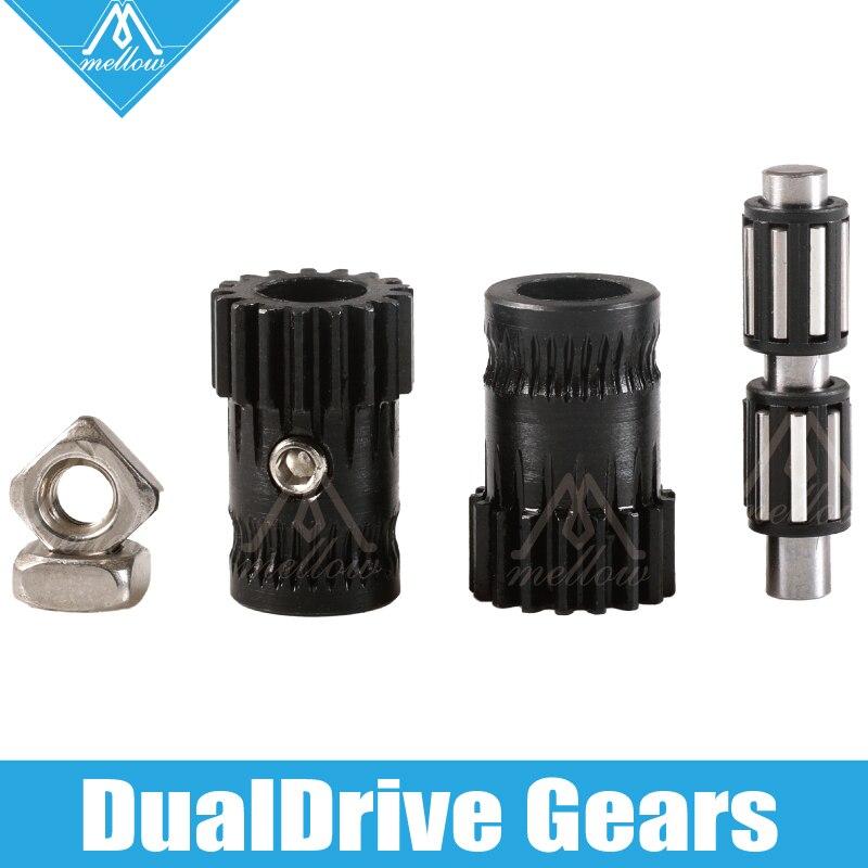 Mellow upgrade Drivegear kit, закаленный двухприводный экструдер, набор, клонированный Btech для Prusa i3 mk3 3d принтера, мини-экструдер Bowden
