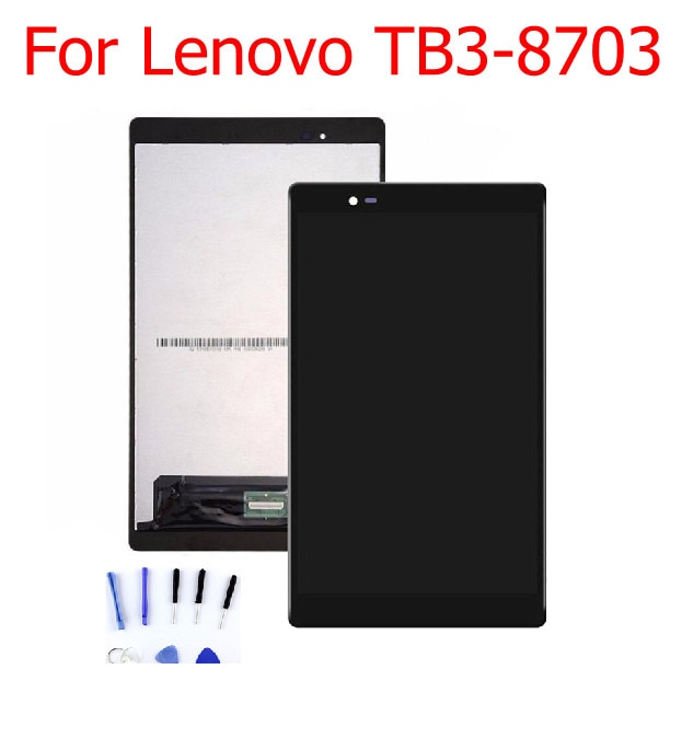 black 5 2 for meizu pro 7 lcd display screen touch panel digitizer white black for meizu pro7 lcd screen free shipping tools STARDE Replacement LCD  For Lenovo  TB3-8703 LCD Display Touch Screen Panel Digitizer Assembly Black color with Free tools Black