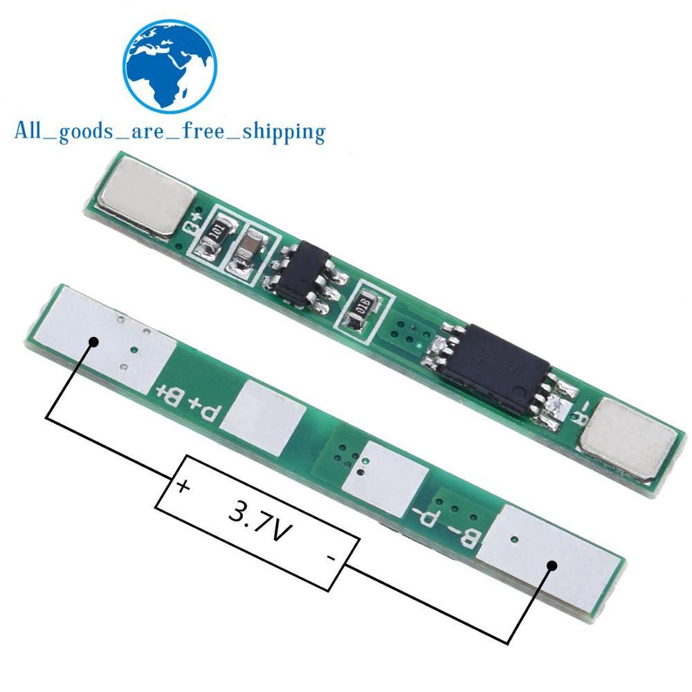 TZT 10 PZ/LOTTO 1S 3.7V 3A li-ion BMS PCM bordo di protezione della batteria pcm per 18650 agli ioni di litio li batteria